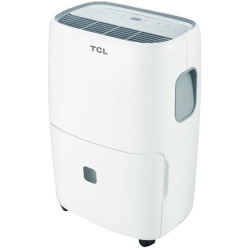 TCL - 70-Pint Portable Dehumidifier - White