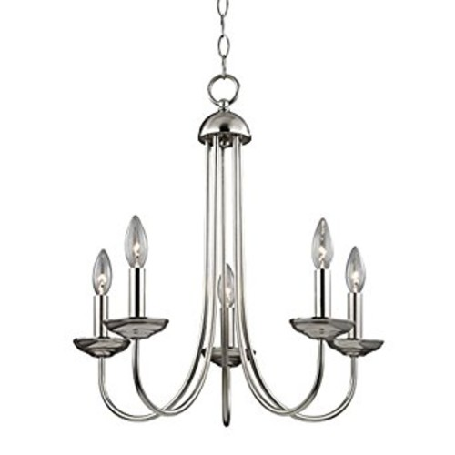 Thomas Lighting Williamsport 5-light Chandelier, Brushed Nickel [Brushed Nickel]