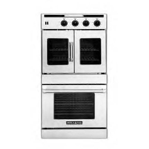 American-Range Legacy Series 30 In. Stainless Steel Dual Fuel Wall Oven - AROFSHGE230L