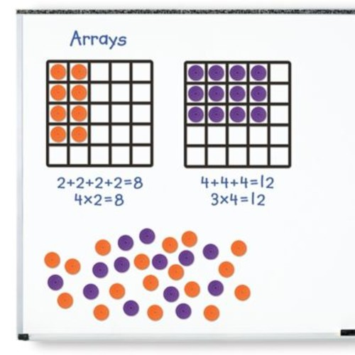 Learning Resources 53-Piece Giant Magnetic Array Set