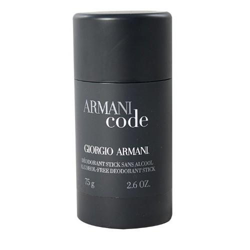 Armani Code by Giorgio Armani For Men. Alcohol Free Deodorant Stick 2.6-Ounces [Deodorant Stick]