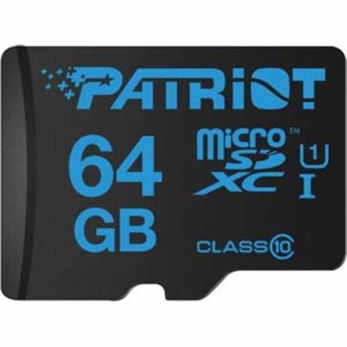 Patriot 64GB MicroSDXC Class 10 UHS-1 Read:90MB/s Write:40MB/s