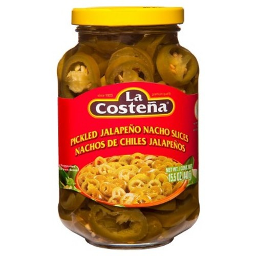La Costena Pickled Jalapeno Nacho Slices 14.8 oz