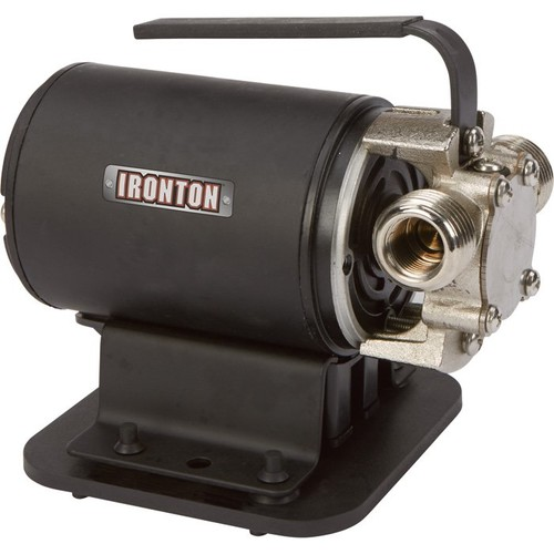 Ironton Transfer Pump with Suction Attachment  298 GPH, 115 Volts, 3/4in. Ports