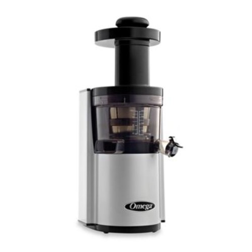 Omega VSJ843R Low Speed Dual Edge Juicer in Silver