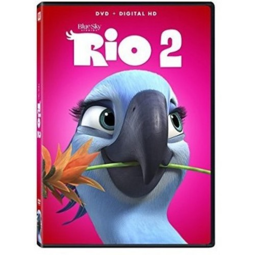 Rio 2 DVD (DVD/Digital HD)