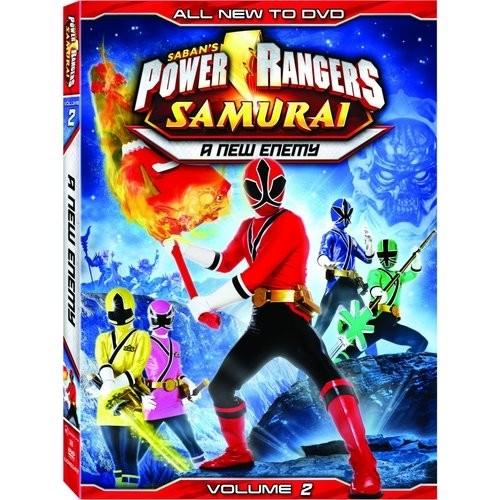 Power Rangers Samurai, Vol. 2: A New Enemy [DVD]