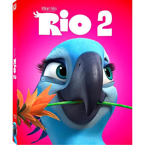 Rio 2 Blu-Ray Combo Pack (Blu-Ray/DVD/Digital Copy)