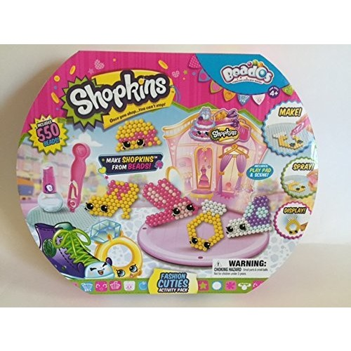 Beados Shopkins Fashion Cuties Activity Pack [Beados Shopkins Fashion Cuties Activity Pack]