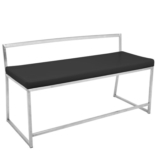 Lumisource Fuji Contemporary Dining-Entryway Bench