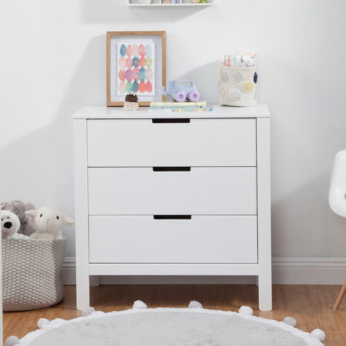 carter's by DaVinci Colby 3-Drawer Dresser in White