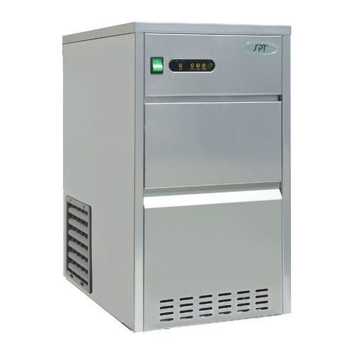 SPT 44-lb Automatic Stainless Steel Ice Maker