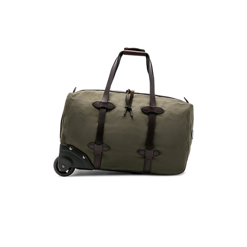 Filson Small Rolling Duffle in Otter Green