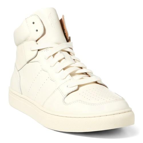 Jory Calfskin High-Top Sneaker