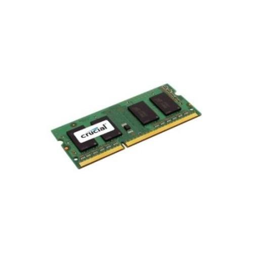 Crucial 4GB DDR3 SDRAM Memory Module - 4 GB (1 x 4 GB) - DDR3 SDRAM - 1600 MHz DDR3-1600/PC3-12800 - 1.35 V - Non-ECC -