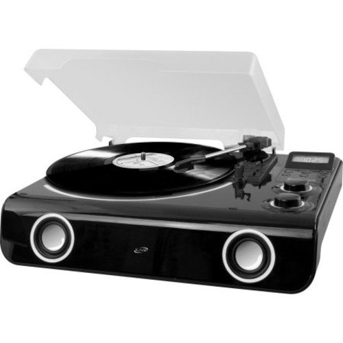 Ilive All-in-one Turntable With Bluetooth, Radio & Stereo Speakers - 33.33, 45, 78 Rpm - Black (ittb775b)
