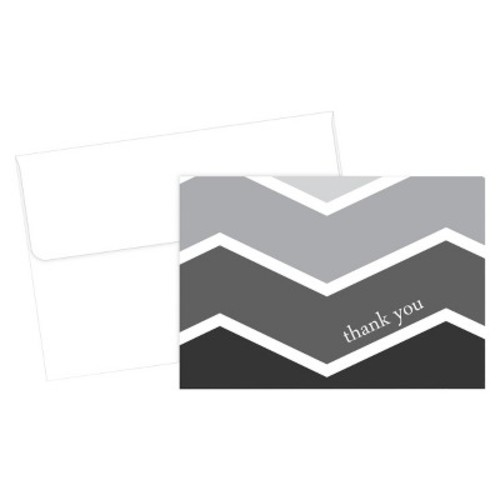 Hortense B. Hewitt 50 Count Ombre Thank You Note Cards [Ombre]