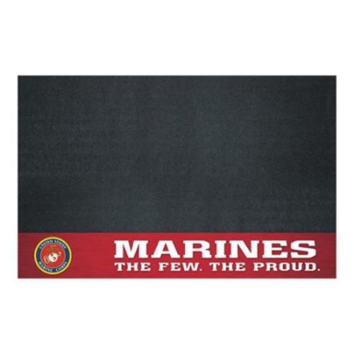Fanmat 15713 U.s. Marines Grill Mat
