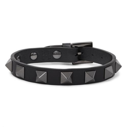Valentino - Rockstud Leather Bracelet