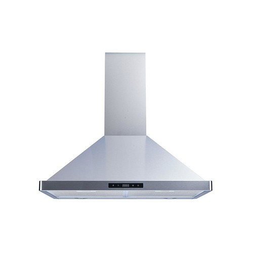 Winflo 30 in. Convertible Wall Mount Range Hood in Stainless Steel with Aluminum Filter, LED Lights and Touch Control