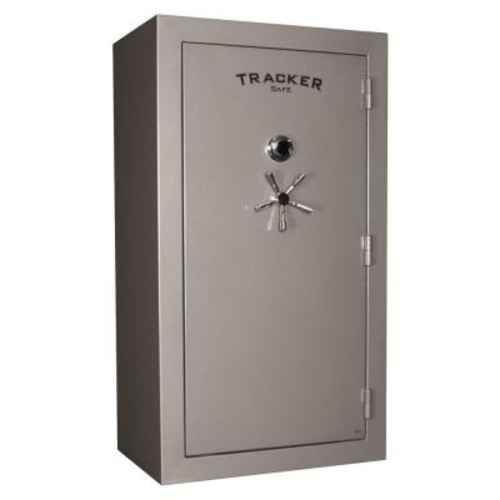 Tracker Safe 45-Gun Fire-Resistant Combination/Dial Lock Gun Safe, Gray