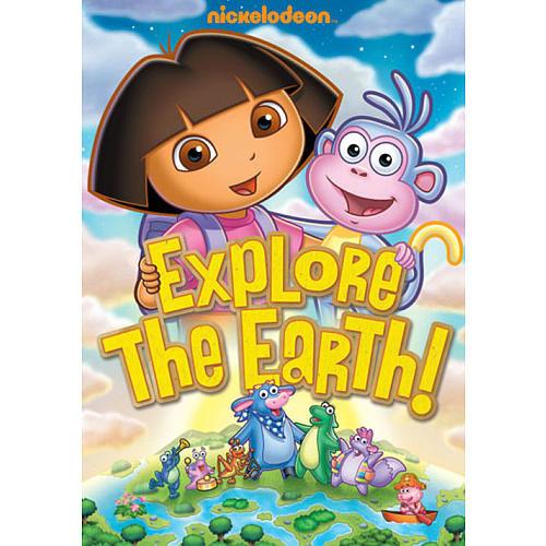 Dora the Explorer: Explore the Earth DVD