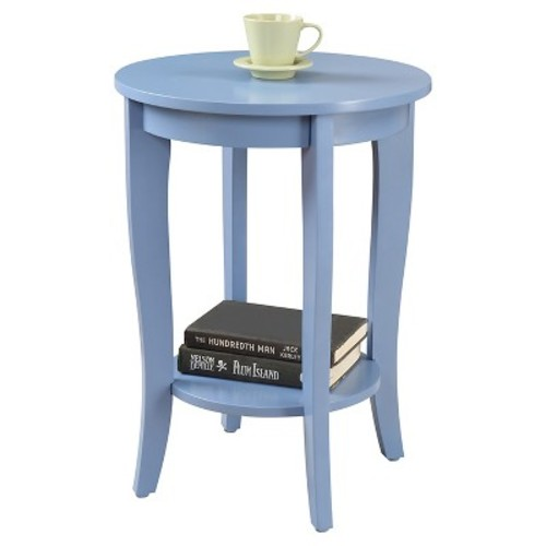 American Heritage Round End Table - Convenience Concepts