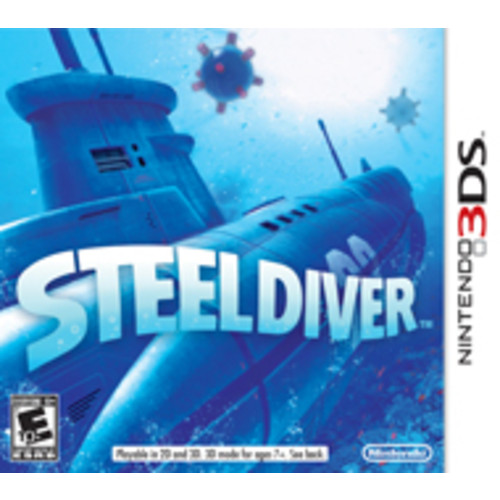 Nintendo of America Steel Diver - 3DS [Pre-Owned]