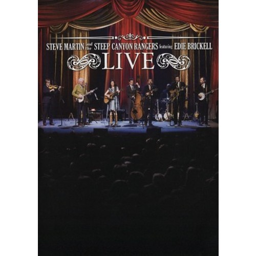 Steve Martin And The Steep Canyon Rangers Featuring Edie Brickell LIVE (DVD)