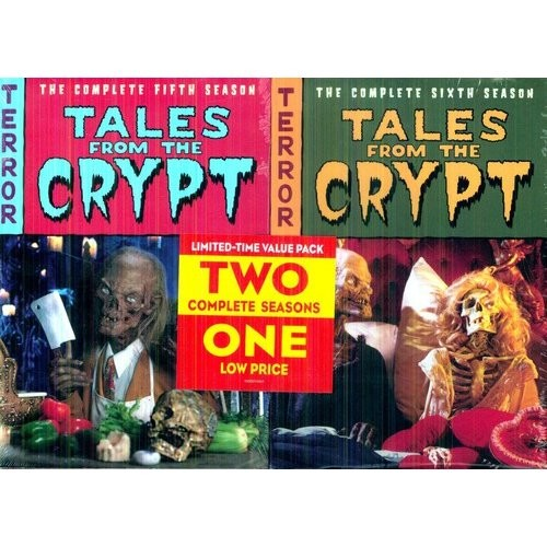 Tales from the Crypt: The Complete Seasons 5 & 6 [6 Discs] [DVD]