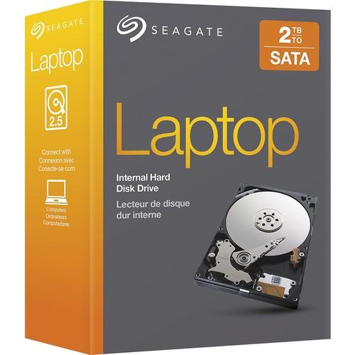 Seagate 2TB Drives SATA 6Gb/s 32MB 2.5-Inch Internal Drive Retail Kit (STBD2000102)