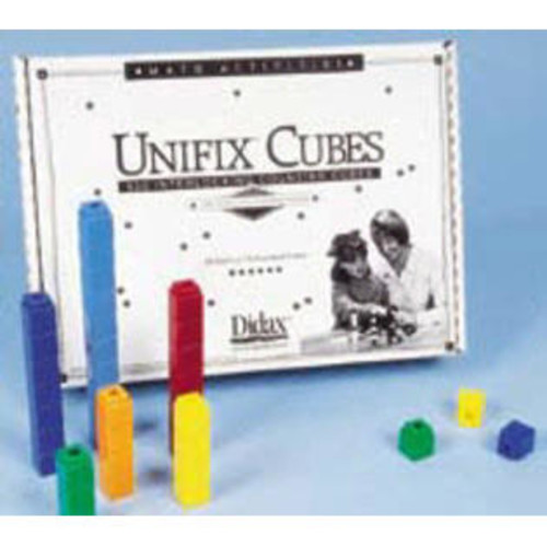 Didax DD-221 UNIFIX CUBES 500 ASSTD COLORS