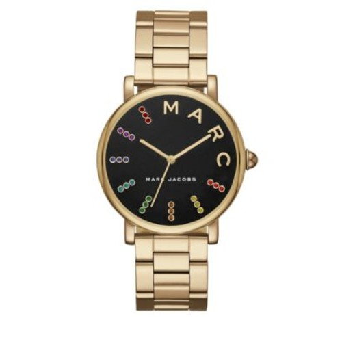 Classic Goldtone Stainless Steel H-Link Bracelet Watch