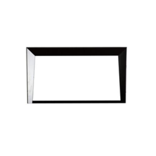 Bellaterra Home 45.5-in x 25.5-in Dark Espresso Rectangular Framed Bathroom Mirror