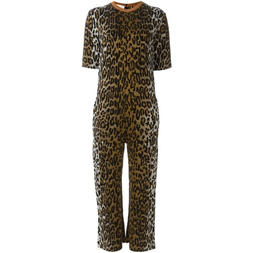 STELLA MCCARTNEY Leopard Print Jumpsuit