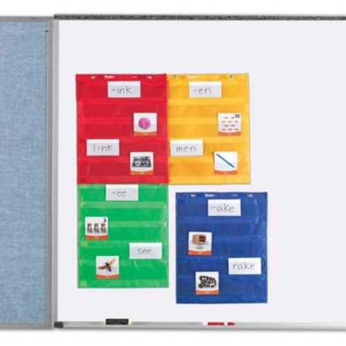 4 Pack LEARNING RESOURCES MAGNETIC POCKET CHART SQUARES