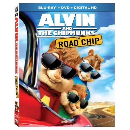 Alvin And The Chipmunks: The Road Chip (Blu-ray/DVD) [Alvin And The Chipmunks: The Road Chip Blu-ray/DVD]
