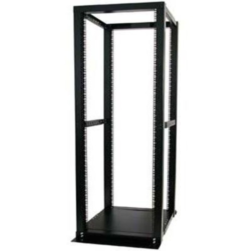 StarTech.com 42U Adjustable 4 Post Open Server Equipment Rack Cabinet - 42U Open Frame Rack Server Cabinet - Four Post Rack: Electronics [42U]