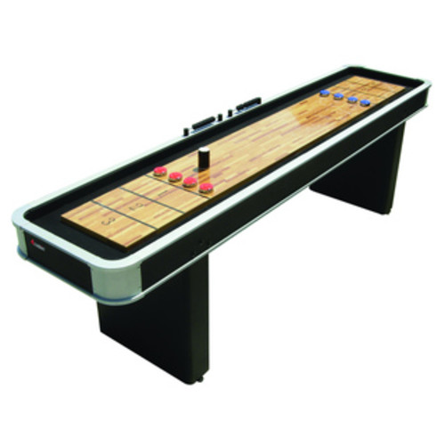Hathaway Challenger 9-foot Walnut Finish Shuffleboard
