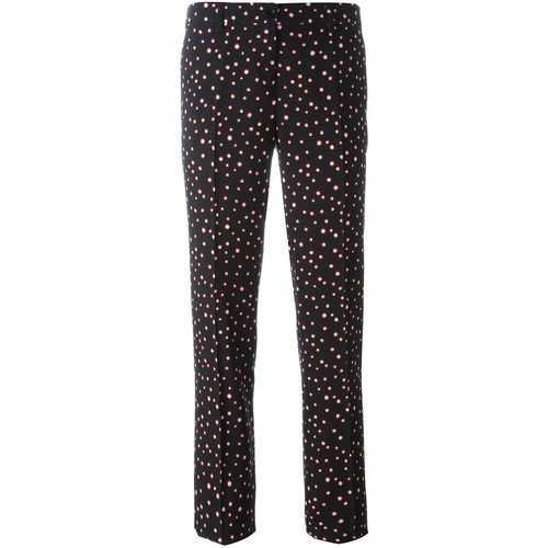 ETRO Dots Print Slim-Fit Trousers