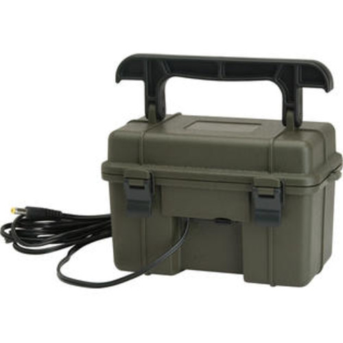 Stealth Cam GSM Outdoors STC-12VBB Stealth Cam 12V Battery Box for Trail Camera