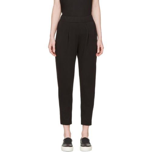 RAQUEL ALLEGRA Black Easy Lounge Pants