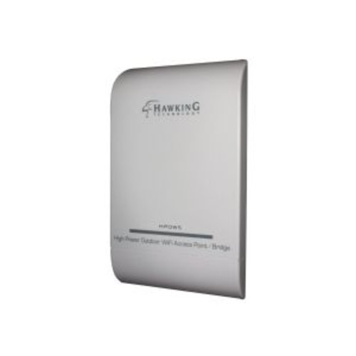 Hawking High Power Outdoor WiFi Access Point / Bridge HPOW5 - Wireless access point - 802.11b/g/n - 2.4 GHz