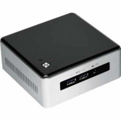 Intel NUC5I5MYHE Desktop Computer - Intel Core i5 i5-5300U 2.30 GHz - Silver, Black