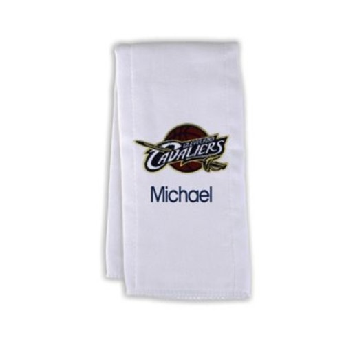 Designs by Chad and Jake NBA Personalized Cleveland Cavaliers Burp Cloth