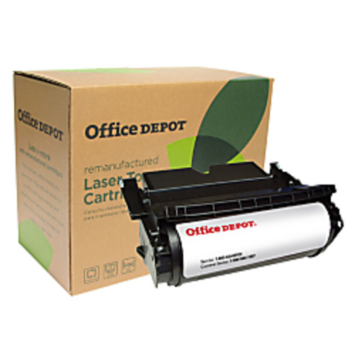 Office Depot Brand ODT644M (Lexmark 64415XA) Remanufactured Extra-High-Yield Black MICR Toner Cartridge