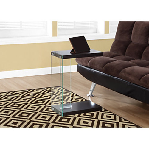 Monarch Specialties Accent Table, Rectangle, Cappuccino