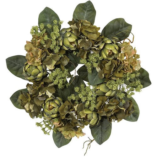 Nearly Natural 18 in. Artichoke Wreath