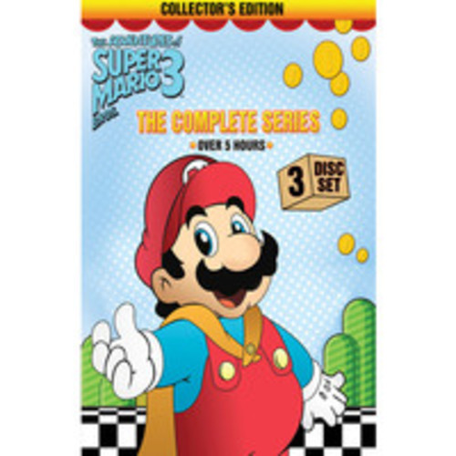 The Adventures of Super Mario Bros. 3: The Complete Series (dvd_video)