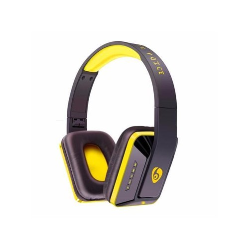 OVLENG MX111 Wireless Bluetooth Headphones Portable Earphone for iPhone Samsung Xiaomi Stereo Headset - Yellow